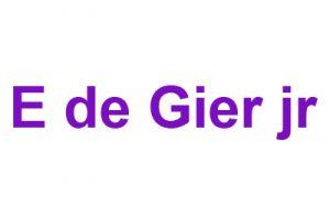 Sponsor_De Gier